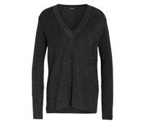 Pullover mit Glizergarn