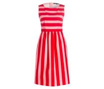 Kleid - rot/ rosa gestreift