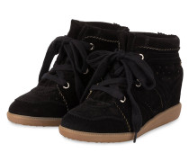 Plateau-Sneaker BOBBY - SCHWARZ