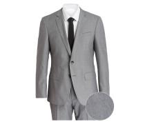 Anzug HUGE5/GENIUS3 Slim-Fit - grau