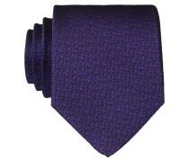 Krawatte - lila/ schwarz