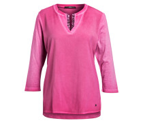 Shirt CHARLENE mit 3/4-Arm - lila