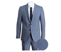 Anzug ALLEN-MERCER Slim-Fit - blau
