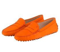Mokassins GOMMINO - orange