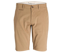 Chino-Shorts Tight-Fit - beige