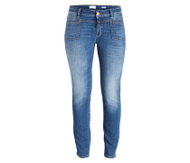 Skinny-Jeans PEDAL-X - used mid blue