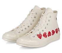 Hightop-Sneaker PLAY - CREME