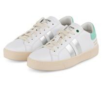 Sneaker KINGSTON - WEISS/ MINT/ SILBER