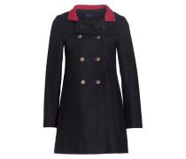 Mantel - schwarz/ rot