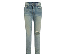 Destroyed Jeans Slim Fit