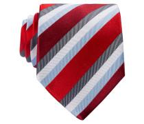 Krawatte - rot/ blau/ weiss