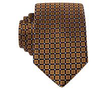 Krawatte - hellbraun/navy