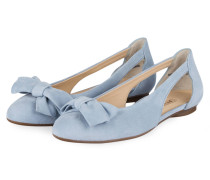 Cut-out-Ballerinas - hellblau