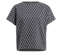T-Shirt - marine/ wollweiss