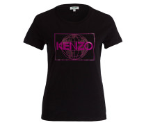T-Shirt - schwarz/ pink