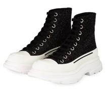 Hightop-Sneaker - SCHWARZ/ SILBER/ WEISS