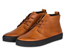 Hightop-Sneaker SPARTACUS - hellbraun