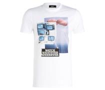 T-Shirt WHATEVER - weiss