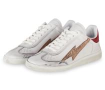 Sneaker BRYCE - WEISS/ ROT