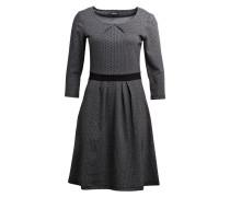 Kleid - grau/ schwarz meliert