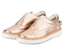 Plateau-Slipper - gold