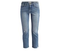 7/8-Jeans LE HIGH STRAIGHT - surrey blue
