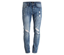 Destroyed-Jeans MORTEN Super Slim-Fit