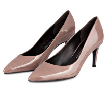 Lackleder-Pumps LIZ - taupe