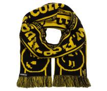 Schal - schwarz/ gelb