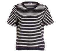 T-Shirt - marine/ cremè
