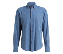 Jeanshemd Casual-Fit - blau