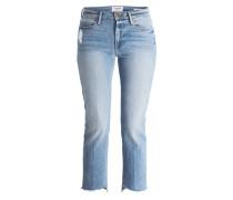 7/8-Jeans LE HIGH STRAIGHT - blau