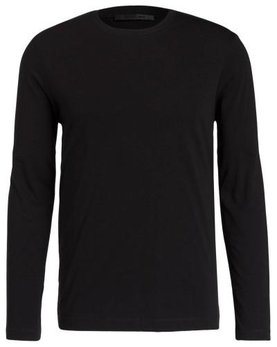 Langarmshirt mit Labeldruck am Rücken