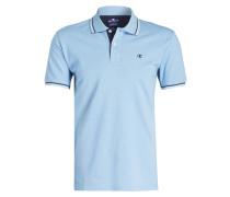 Piqué-Poloshirt Easy-Fit - hellblau