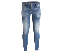 Cropped-Jeans TWIGGY - light wash