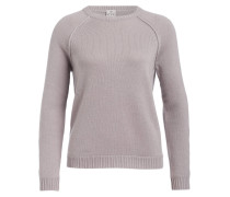 Pullover mit Cashmere-Anteil - taupe