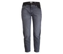 Mom-Jeans HEARTBREAKER - patchwork grey