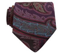 Krawatte - schwarz/ rot/ blau