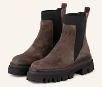 Plateau-Boots - BRAUN