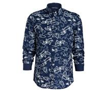 Hemd Regular-Fit - navy
