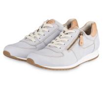 Sneaker - hellblau/ beige