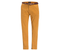 Chino STUART Slim-Fit - curry