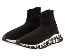 Hightop-Sneaker SPEED GRAFITTI - SCHWARZ