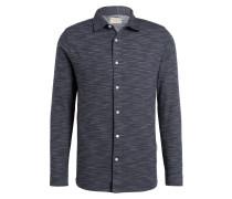 Jersey-Hemd Extra Slim Fit - grau meliert