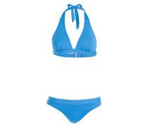 Neckholder-Bikini NOLINA - blau