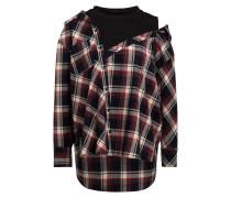 Oversize-Hemdblusenshirt