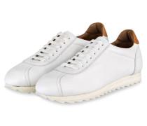 Sneaker - weiss / hellbraun