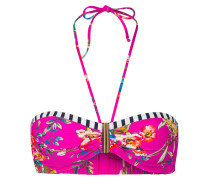Bandeau-Bikini-Top VINTAGE NOW - pink