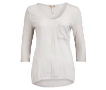 Shirt mit 3/4-Arm - grau