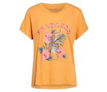 T-Shirt FRAN TIGER mit Pailettenbesatz